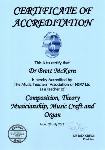 MTA Accreditation
