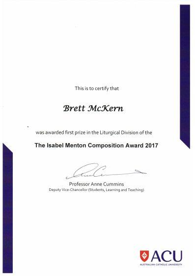 Isabel Menton Award 2017